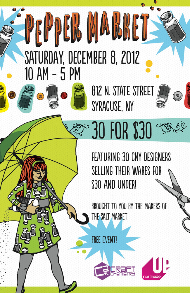 Smock will be at the Pepper Market from 10am-5pm on Saturday, December 8 2012