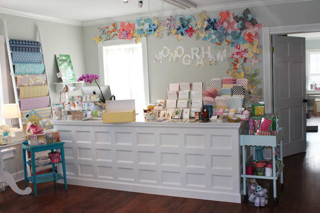 Amy Graham Stigler, Creative Director of Smock, owns Monograham Paper & Gifts, a curated stationery & gift boutique in Delafield, WI