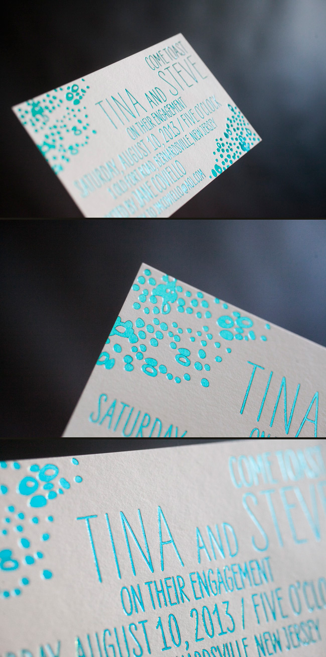 Smock's Tatra Engagement Party Invitations